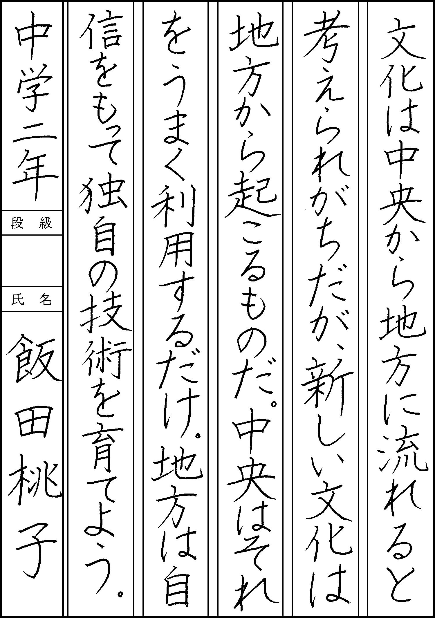 飯田 桃子